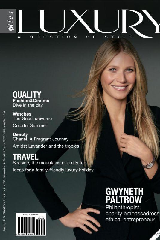 GWYNETH PALTROW in Luxury Files Magazine, Summer 2018