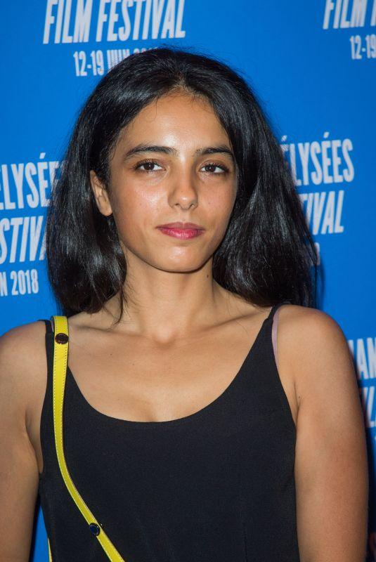 HAFSIA HERZI at 7th Champs Elysees Film Festival in Paris 06/19/2018