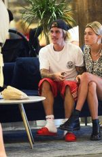 HAILEY BALDWIN and Justin Bieber Out in Brooklyn 06/17/2018