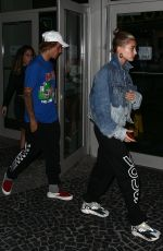 HAILEY BALDWIN and Justin Bieber Out in Miami 06/11/2018