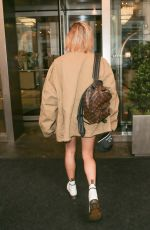 HAILEY BALDWIN Arrives at Justin Bieber Hotel in New York 06/13/2018
