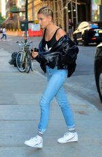 HAILEY BALDWIN Out and About in New York 06/21/2018