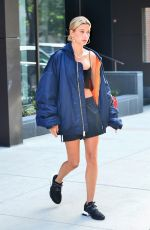 HAILEY BALDWIN Out in New York 06/22/2018
