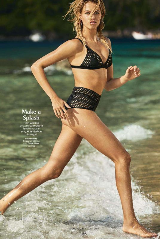 HAILEY CLAUSON in Cosmopolitan Magazine, June 2018