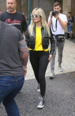 HALSEY Out and About in Brazil 06/08/2018