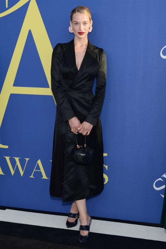 HANNAH FERGUSON at CFDA Fashion Awards in New York 06/05/2018