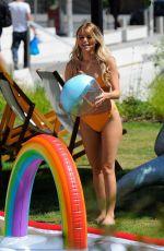 HAYLEY HUGHES in Bikini at Outside ITV Studios in London 06/26/2018
