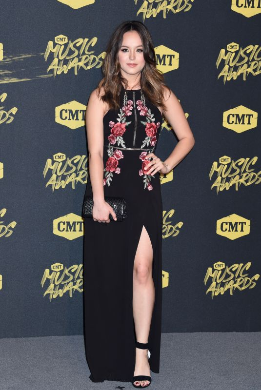 HAYLEY ORRANTIA at CMT Music Awards 2018 in Nashville 06/06/2018