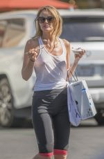 HAYLEY ROBERTS Out for Ice Cream in Calabasas 06/25/2018