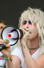 HAYLEY WILLIAMS Performs at Bonnaroo Music and Arts Festival in Manchester 06/08/2018