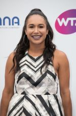 HEATHER WATSON at WTA Tennis on the Thames Evening Reception in London 06/28/2018