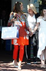 HEIDI KLUM and Daughter Leni out for Graduation Celebration Lunch in West Hollywood 06/08/2018