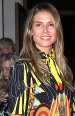 HEIDI KLUM Arrives at a Party in New York 06/25/2018