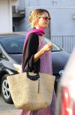 HEIDI KLUM at Meche Salon in Beverly Hills 06/20/2018