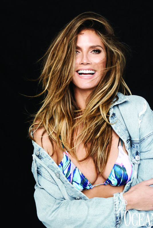 HEIDI KLUM in Ocean Drive Magazine, July 2018
