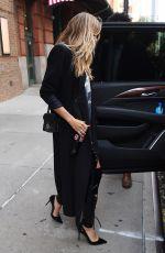 HEIDI KLUM Leaves Her Hotel in New York 06/26/2018