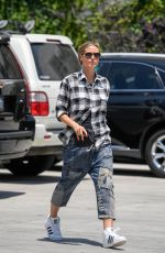 HEIDI KLUM Out and About in Los Angeles 06/18/2018