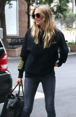 HEIDI KLUM Out and About in New York 06/22/2018