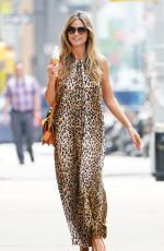 HEIDI KLUM Out for Ice Cream in New York 06/24/2018