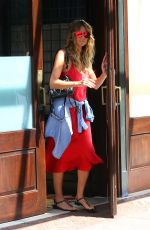 HEIDI KLUM Out for Meeting in New York 06/28/2018