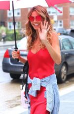HEIDI KLUM Out in New York 06/28/2018