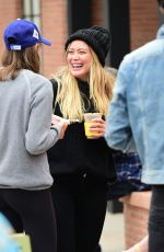 HILARY DUFF at Farmer