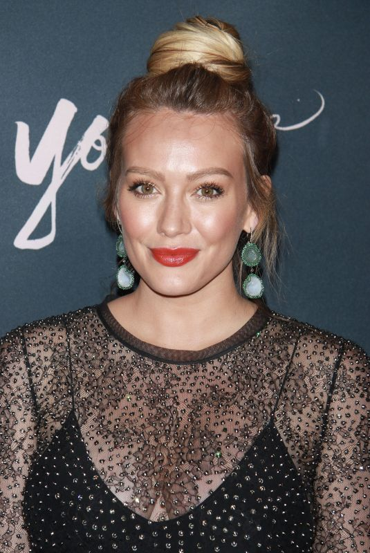 HILARY DUFF at Younger Premiere in New York 06/04/2018