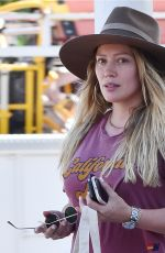 HILARY DUFF at Zoo in Los Angeles 06/20/2018
