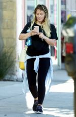 HILARY DUFF Out and About in Los Angeles 06/25/2018