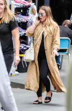 HILARY DUFF Out at Times Square in New York 06/07/2018