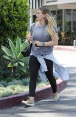 HILARY DUFF Out in Los Angeles 05/31/2018
