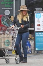 HILARY DUFF Out in Los Angeles 06/23/2018
