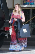 HILARY DUFF Out Shopping in Beverly Hills 06/07/2018