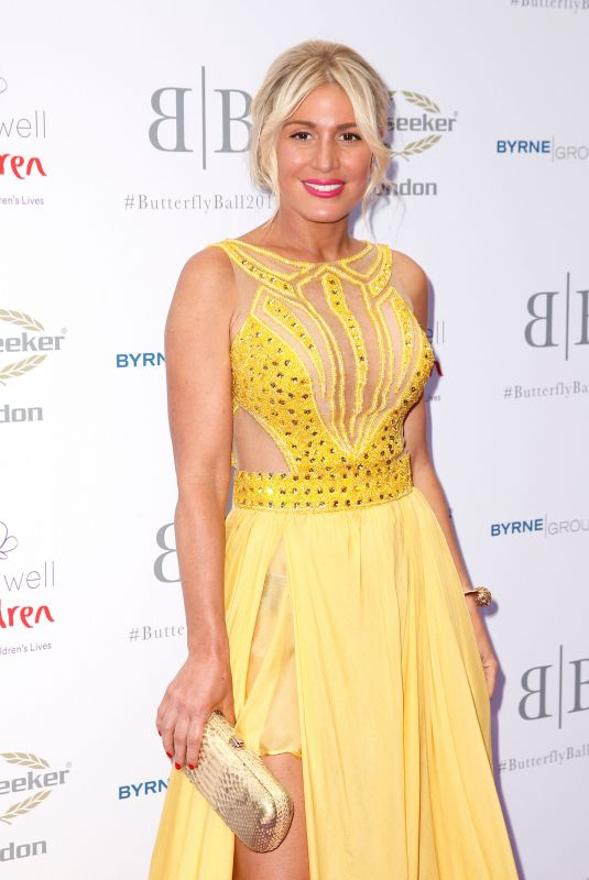 HOFIT GOLAN at Caudwell Children Butterfly Ball in London 06/14/2018
