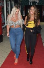 HOLLY HAGAN and SOPHIA KASAEI Night Out in Teesside 06/22/2018
