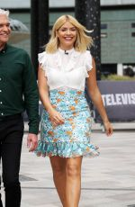 HOLLY WILLOGHBY at ITV Studios in London 06/20/2018