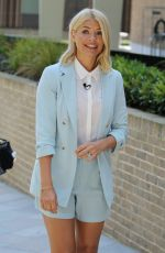 HOLLY WILLOGHBY at ITV Studios in London 06/28/2018