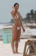 HOPE BEEL in Bikini at a Beach in Tulum 06/03/2018