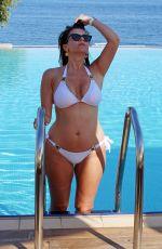 IMOGEN THOMAS in Bikini at a Pool in Skiathos 06/01/2018