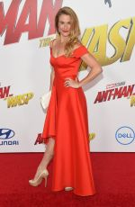 INGRID KLEINIG at Ant-man and the Wasp Premiere in Los Angeles 06/25/2018