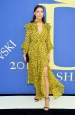 IRINA SHAYK at CFDA Fashion Awards in New York 06/05/2018
