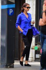 IRINA SHAYK Out in New York 06/06/2018