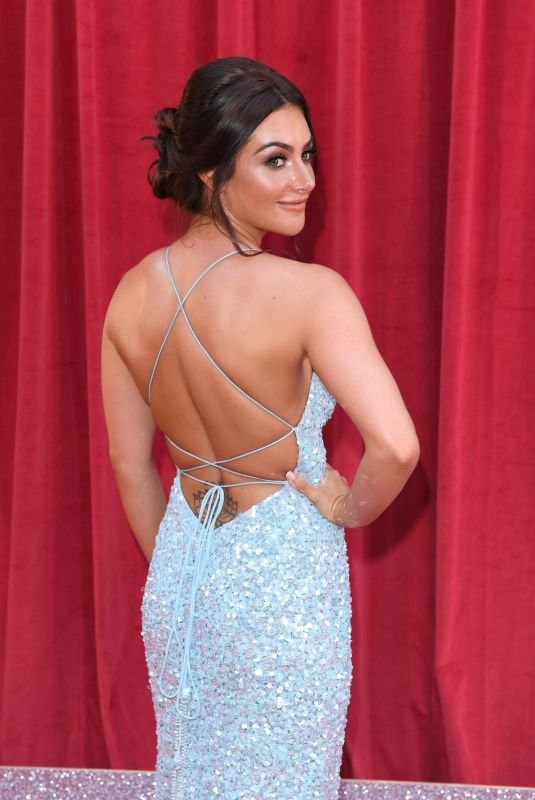 ISABEL HODGINS at British Soap Awards 2018 in London 06/02/2018