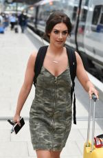 ISABEL HODGINS at Manchester Piccadilly Train Station 06/02/2018