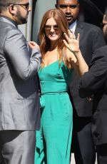 ISLA FISHER at Jimmy Kimmel Live in Hollywood 06/06/2018