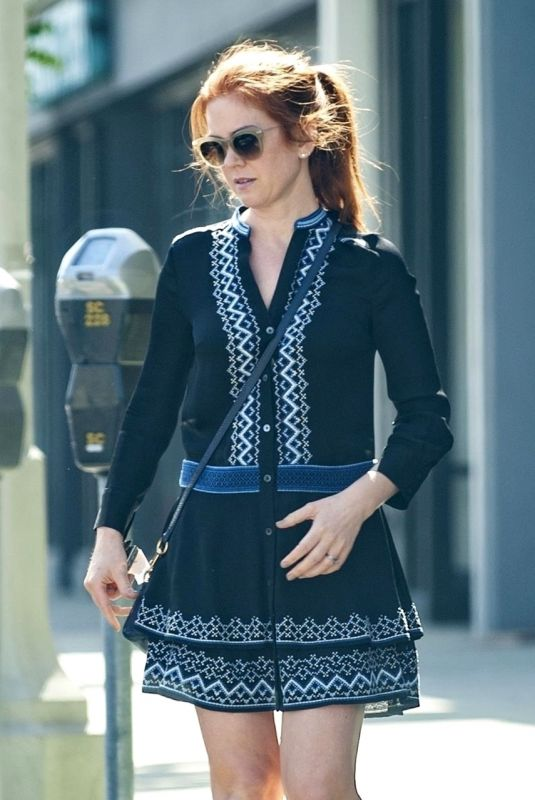 ISLA FISHER Out and About in Studio City 06/04/2018