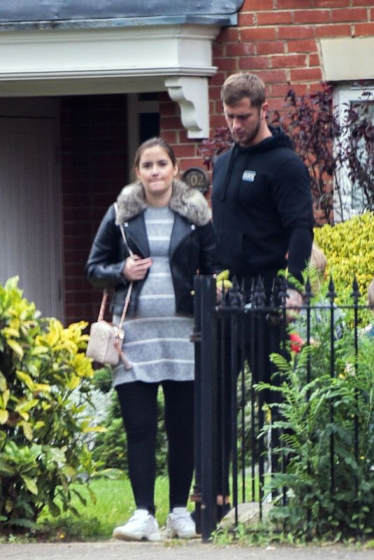 JACQUELINE JOSSA and Dan Osborne Out in London 06/06/2018