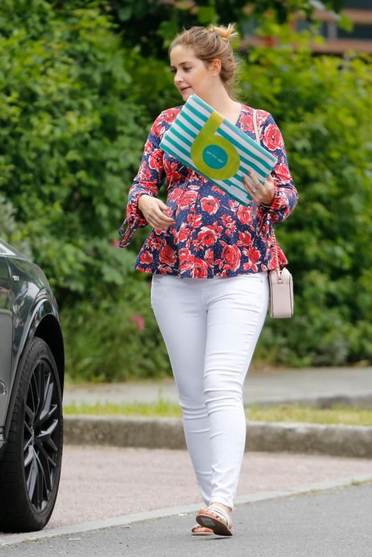 JACQUELINE JOSSA Out Shopping in Kent 06/04/2018