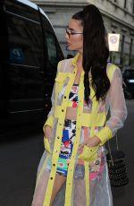 JACQUELINE MACINNES WOOD Arrives at Stella McCartney Show at Milan Fashion Week 06/18/2018