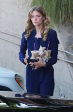 JAIME KING Out for Iced Coffees in Los Angeles 06/05/2018